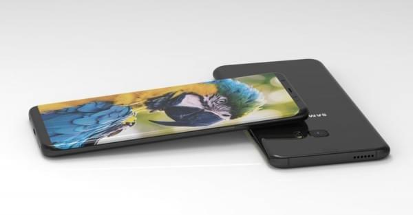 三星Galaxy S8渲染图再曝光 显示Always-On功能的照片 - 1