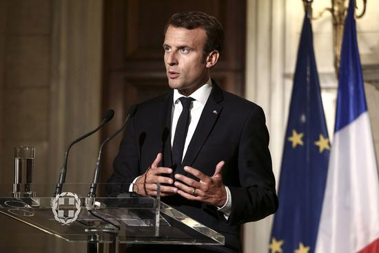 法国总统马克龙:科技公司人工智能算法必须透明