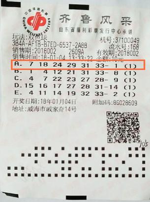 """310000元大奖彩票""""出了差"""" 彩友3周后才兑奖"""