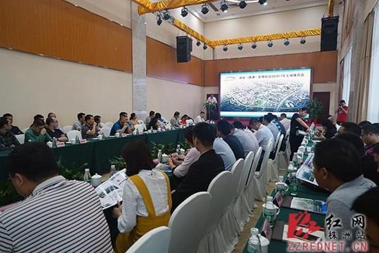 湖南(株洲)职教科技园地处长株潭融合区域