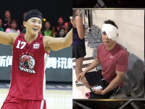 刘耕宏打篮球被误伤左眼 报平安:一礼拜没流汗了