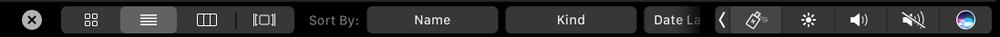 抢先看苹果自家的应用会如何支持Touch Bar的照片 - 12