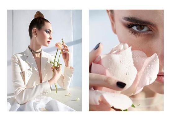 Laura Love出镜《Dior Magazine》