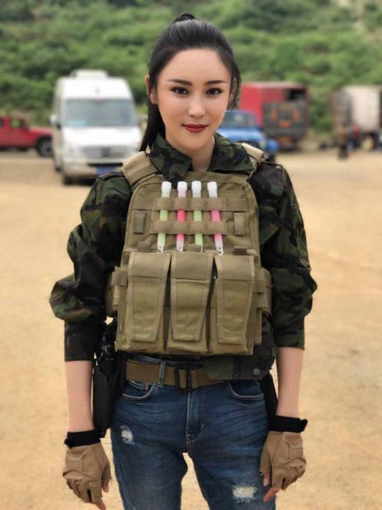 新生代女演员魏之椒参演《男子汉之雷霆突击》