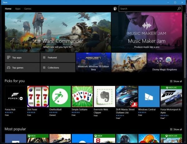微软从Windows Store上移除了10万款应用的照片 - 1