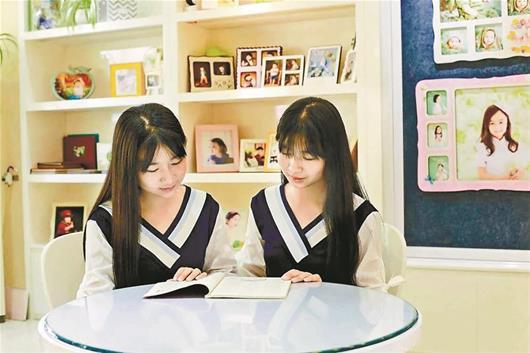 双胞胎姐妹同被武大文学院录取:从小爱看书