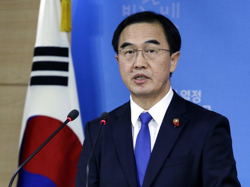韩统一部长官:韩朝高级别会谈将重点讨论朝鲜参奥