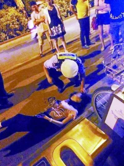 男子抢劫时踹飞骑电动车女子致其重伤 庭审时翻供