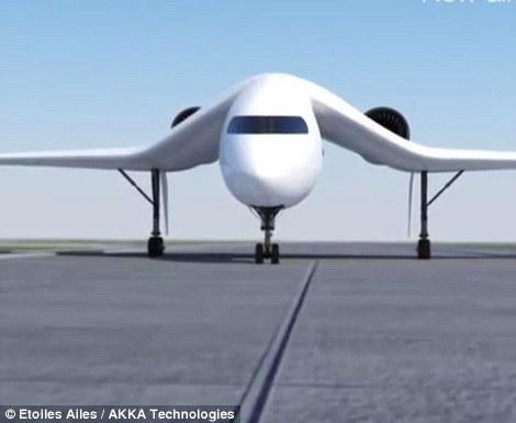 Akka闪现可聚集的概念飞机 或彻底变动来日空中观光