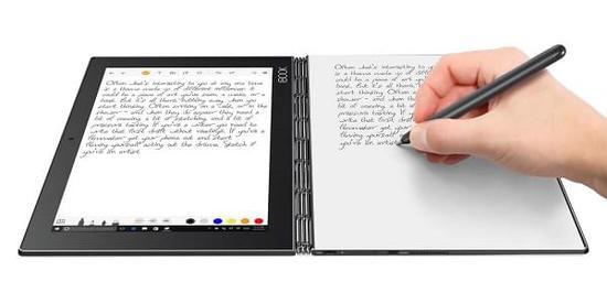 便携智能2合1:联想发Yoga Book平板/混合本新本