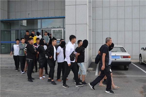 团伙以微信空头招嫖诈骗千起警方抓获15名嫌犯