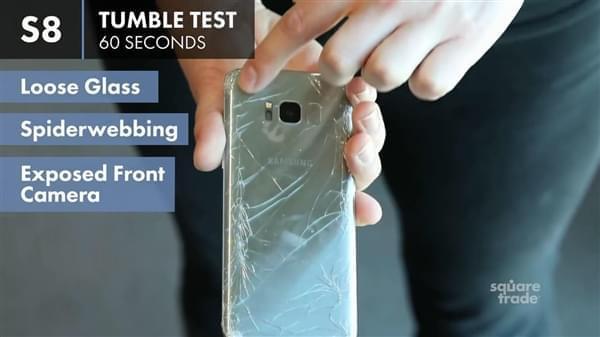 三星S8成史上最脆皮手机:轻轻一跌惨不忍睹的照片 - 5