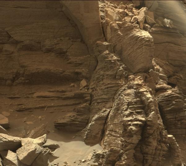 NASA公布好奇号漫游车拍摄的最新火星照片的照片 - 4