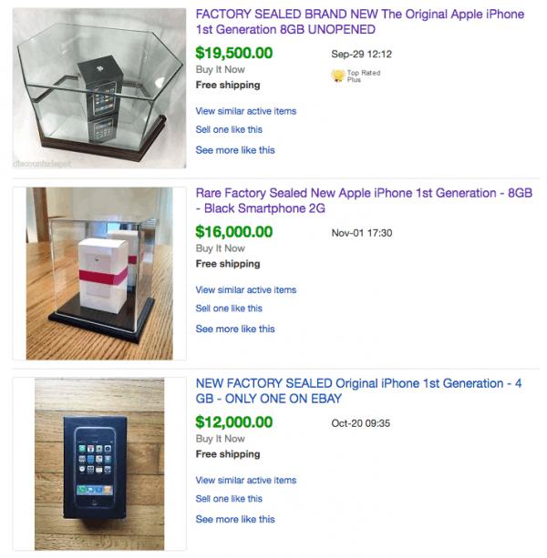 首代未开封iPhone价格已被炒至十几万的照片 - 2