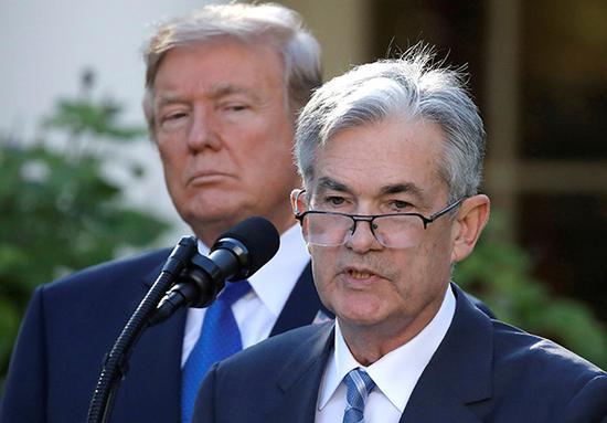 特朗普本周第三次批评美联储:对鲍威尔很失望