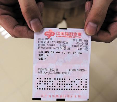 沈阳彩民7+1中双色球1000万 中奖彩票曝光