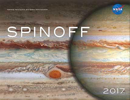 NASA发布《Spinoff 2017》年册  展示太空技术如何为人们提供帮助