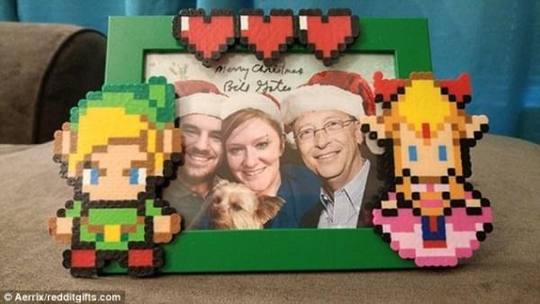 比尔·盖茨再度化身圣诞老人 为幸运网友送出豪华大礼的照片 - 8