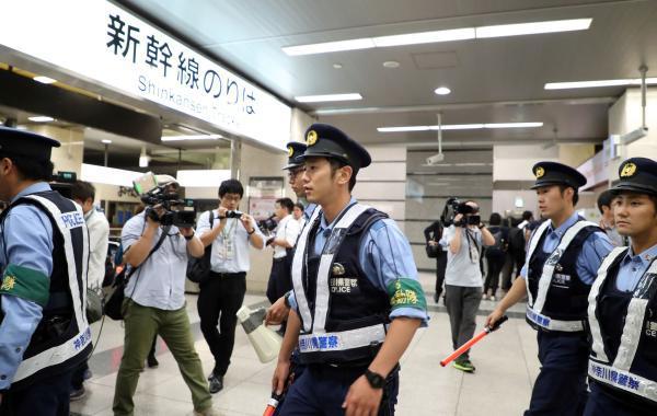 日本新干线因砍人事件加强巡逻 暂不实施行李安检