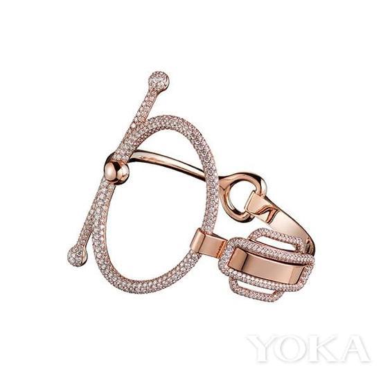 爱马仕珠宝以马衔扣为灵感。