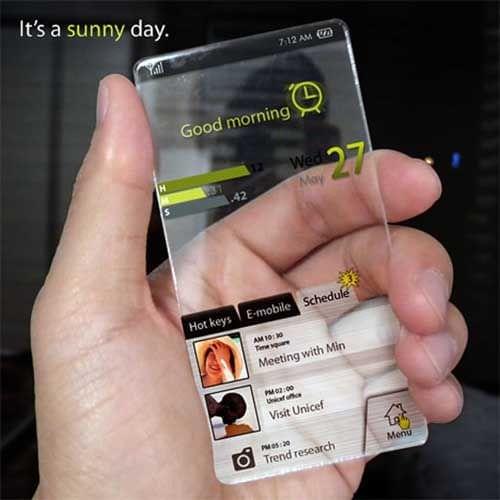 传言称十周年版iPhone机身将用全透明玻璃制造的照片