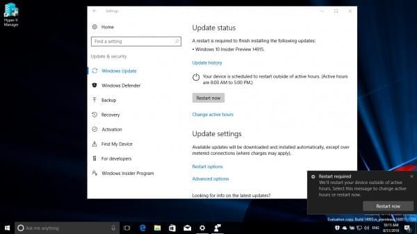 Windows 10 Build 14915推送:PC/手机双版、修复关机BUG的照片 - 4