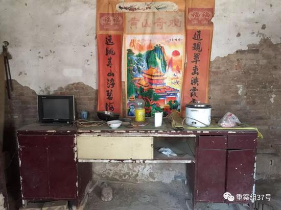 ▲自吴春红深陷囹圄后,家中已无人居住。新京报记者赵凯迪摄