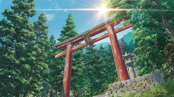 日本动画电影《你的名字。》对比现实场景的照片 - 7