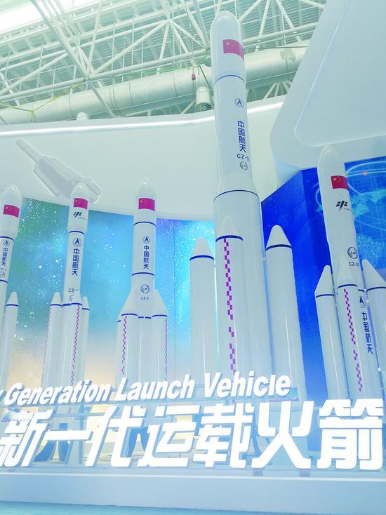国产新一代载人飞船亮相珠海 适用未来月球探测