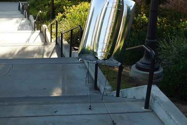 忍俊不禁:研究人员开发出两款步态奇特的行走机器人的照片 - 2