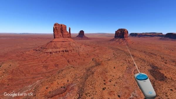 谷歌Google Earth VR配戴VR设备就能领略世界美景的照片 - 1