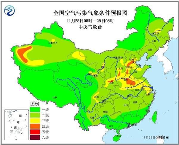 华北黄淮霾又起 全国大部雨雪暂歇