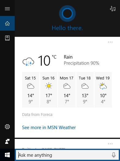 部分Windows Insider用户获新版Cortana用户界面的照片 - 3