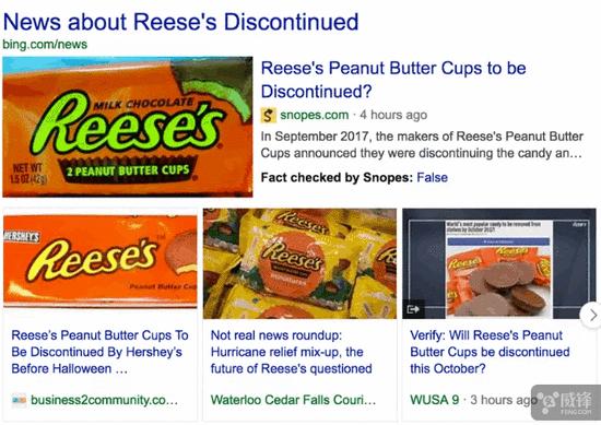 """为反假新闻Bing搜索结果加入""""事实核查""""功能"""