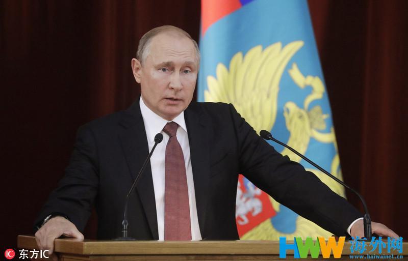 普京就俄对外关系强硬表态:将对等回应侵略性行为