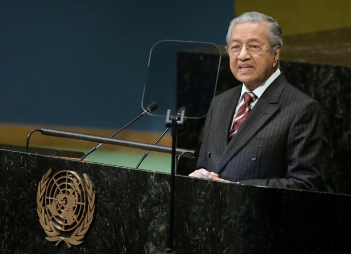 """这3国齐向联合国""""开炮"""" 马来西亚总理暗批美国"""