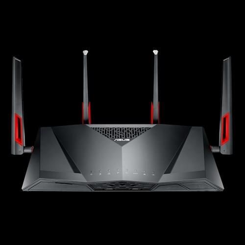 华硕无线路由新旗舰AC88U发布:无线峰值速率达3167Mbps的照片 - 2