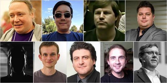 外媒:这九人是比特币等加密货币背后的区块链大脑