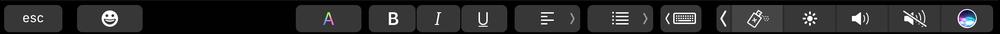 抢先看苹果自家的应用会如何支持Touch Bar的照片 - 43