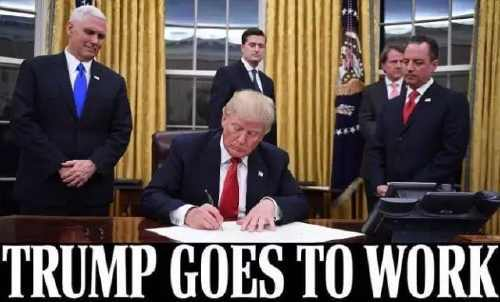 美国新政府六大目标