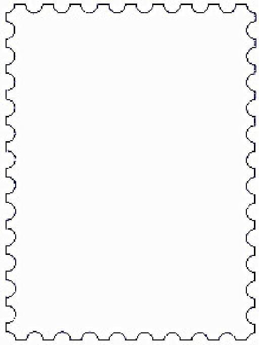 简单边框剪纸步骤图解