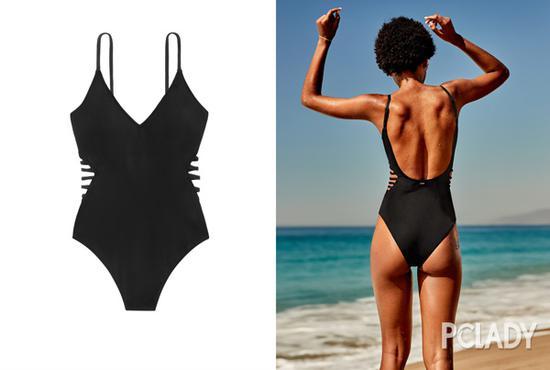 这个夏天你还少一套高颜值泳衣打卡C位出道的无边泳池