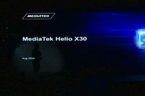 联发科Helio X30发布:首款10nm十核芯的照片 - 1