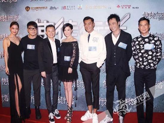 次加盟中国电影 搭档古天乐出演《使徒行者》