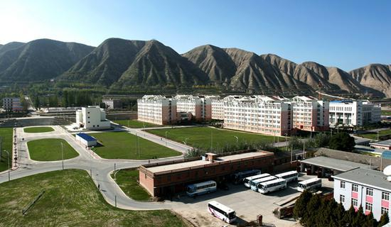 兰州大学榆中校区校园风貌 图片来自于兰州大学官网