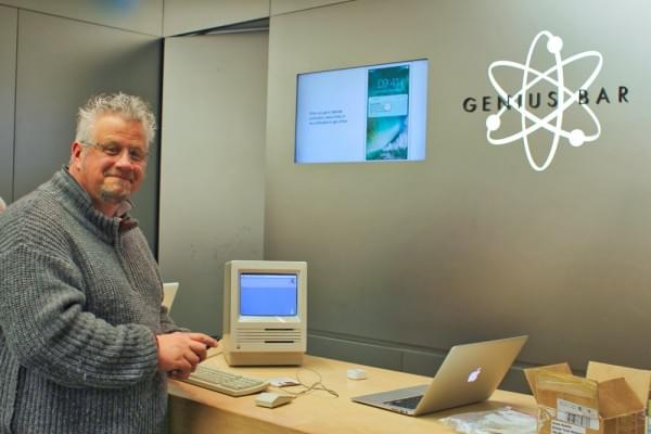 30年前的Mac:苹果天才吧员工还会修理吗的照片 - 1