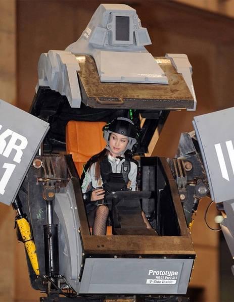 日本研制出可真人驾驶的机器人战士,卖1.2亿日元的照片 - 4