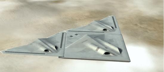 BAE概念无人机:可以合体的科幻武器?