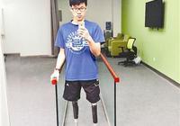 汶川失腿男孩被2所美国大学录取 本月将出国