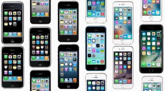 苹果手机全家福